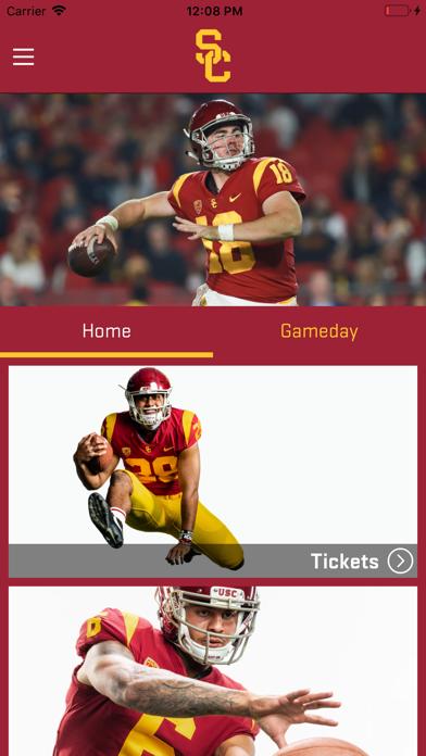 USC Trojans Gameday App screenshot two