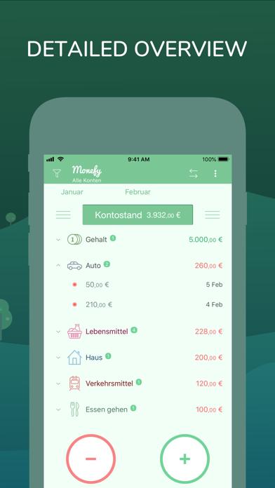 Monefy: Ausgaben managerScreenshot von 2