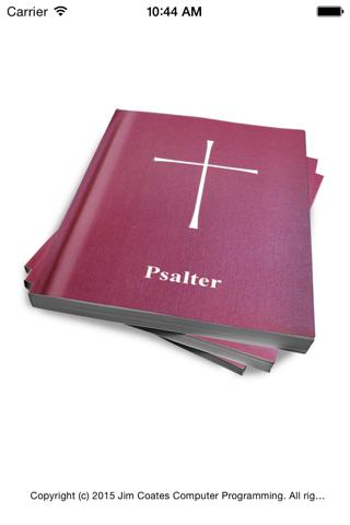 Psalter - náhled