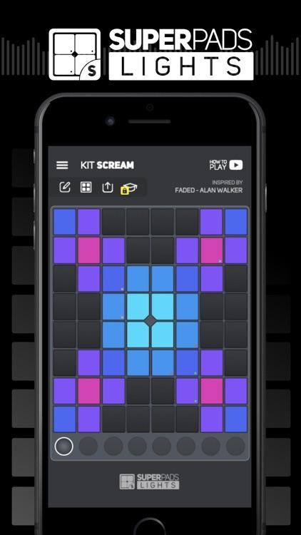 SUPER PADS LIGHTS - Be a DJ screenshot-0