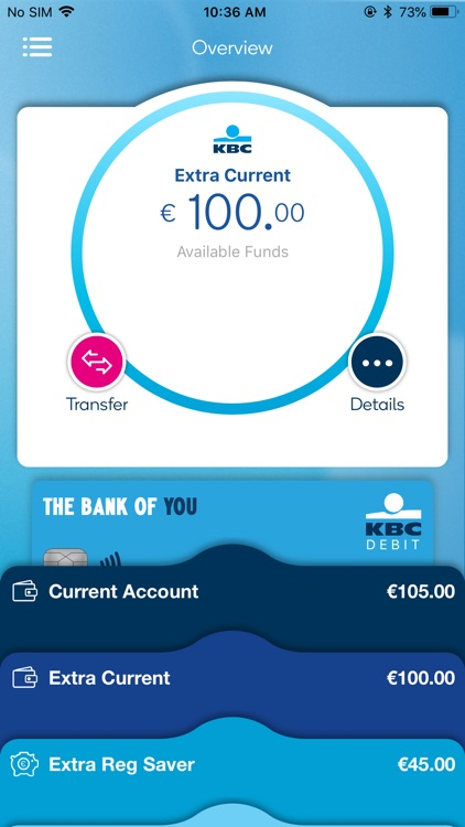 KBC Ireland Mobile Banking screenshot-0
