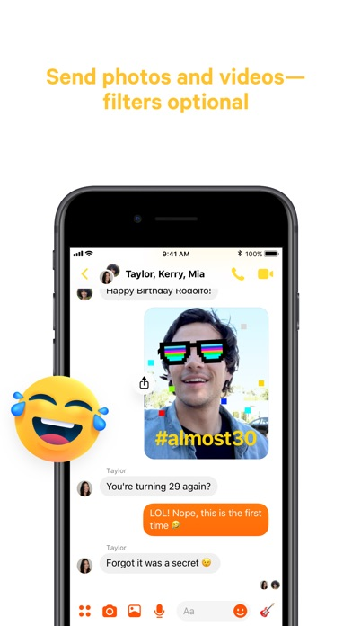 Screenshot for Messenger in Philippines App Store
