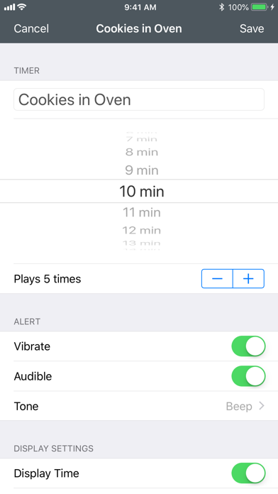 Screenshot for Time Timer in Canada App Store