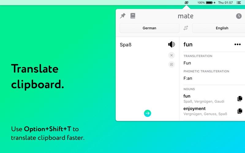Mate Translate Screenshot