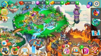 Dragon City Mobile Screenshot on iOS