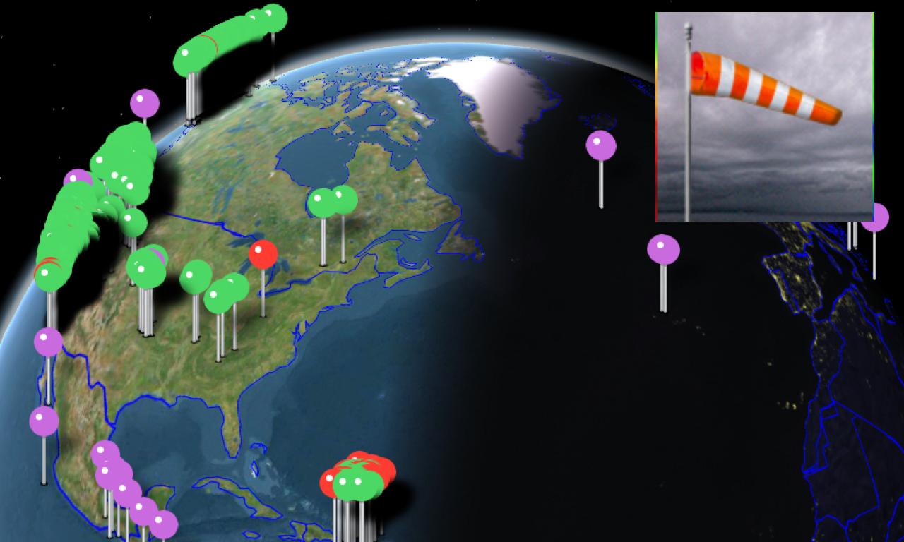 Instant NOAA Alerts 3D Lite