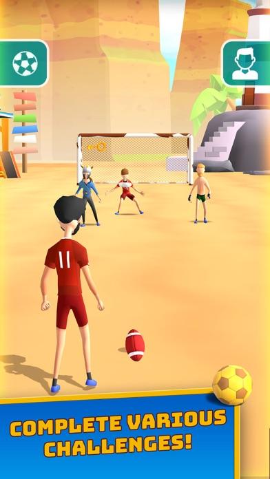 İndir Flick Goal! Pc için
