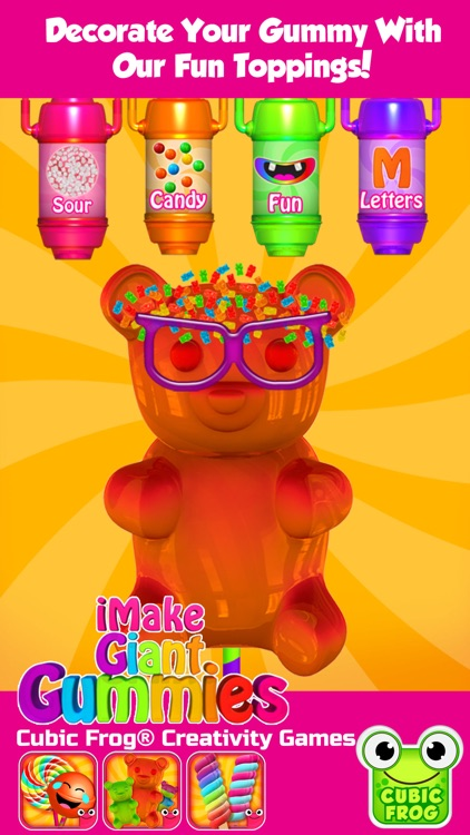 Gummy Bear Maker Candy Design! screenshot-4