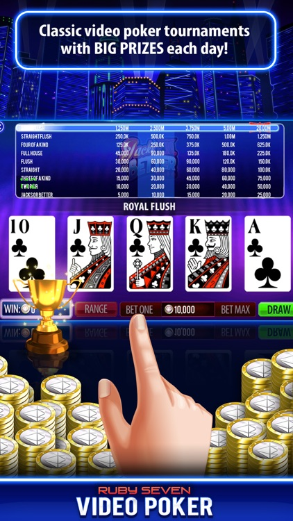 Video Poker by Ruby Seven screenshot-6