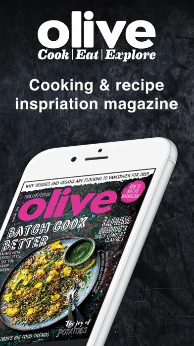 Olive Magazine review screenshots
