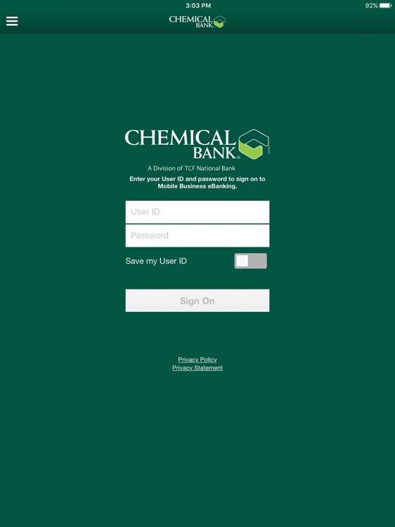 Chemical Business for iPad