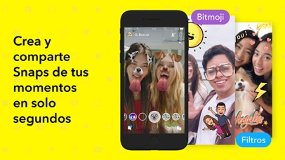 Screenshot for Snapchat in Chile App Store