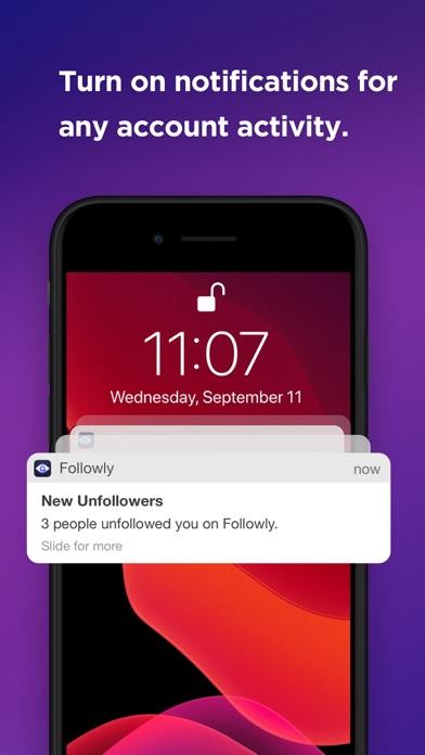 Followly  - Unfollower Stats ekran görüntüsü