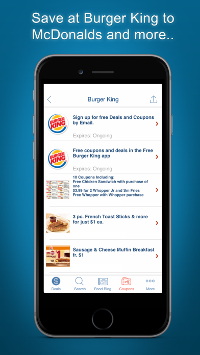 Download Food Coupons, Fast Food Deals for Android