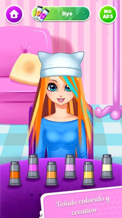 Girls Hair Salon - MuñecasCaptura de pantalla de3