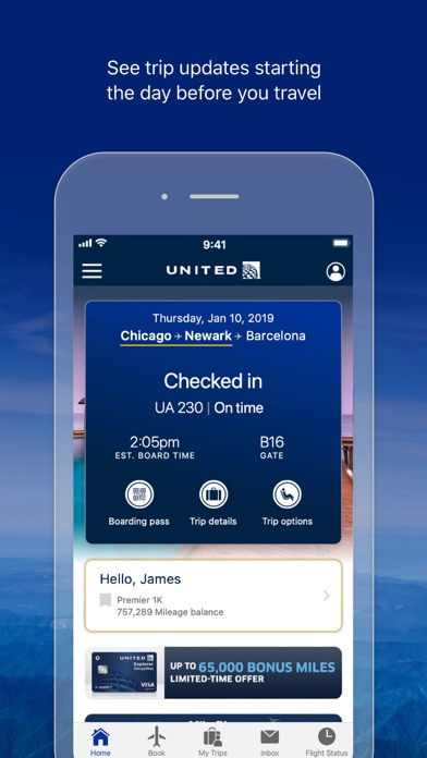United Airlines - Revenue & Download estimates - Apple App