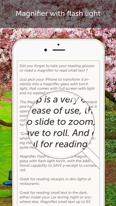 Magnifying Glass & Flash Light Screenshots