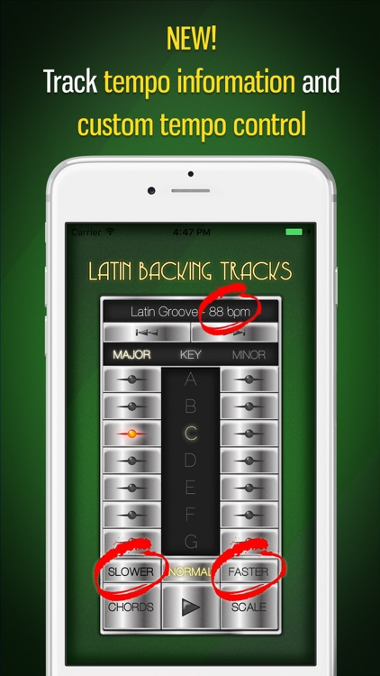 Backing Tracks: Latin screenshot-1