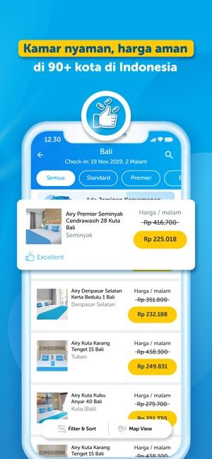 Airy Hotel Tiket Pesawat On The App Store