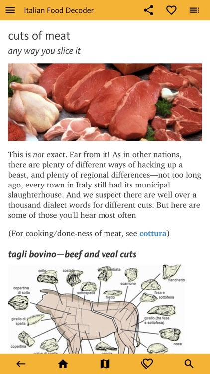 Italian Food Decoder screenshot-3