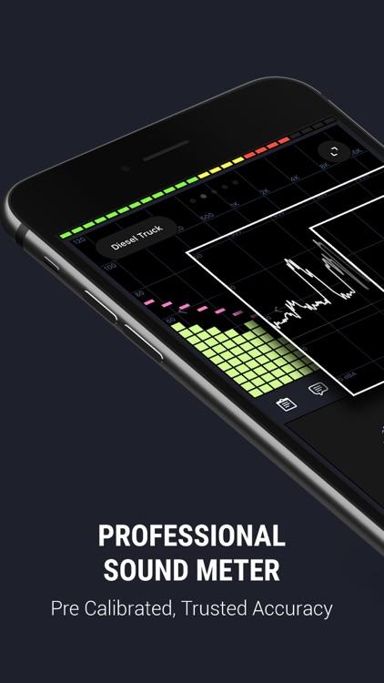 Decibel X:dB Sound Level Meter screenshot-0
