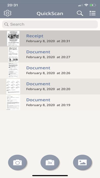 Quick Scan - PDF Docs Creator屏幕截图1