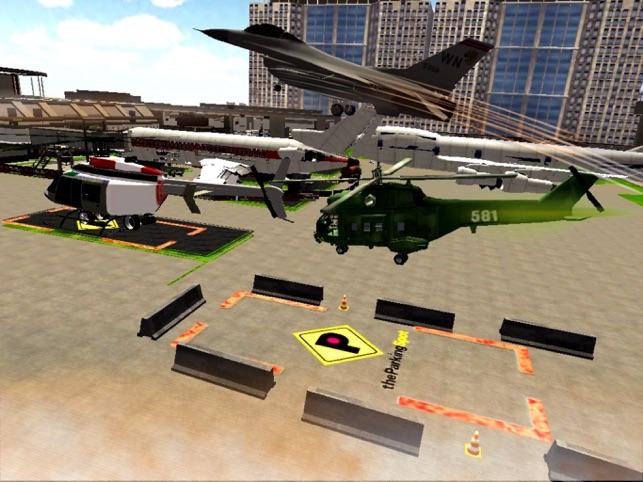 Bãi đậu xe sân bay trực thăng