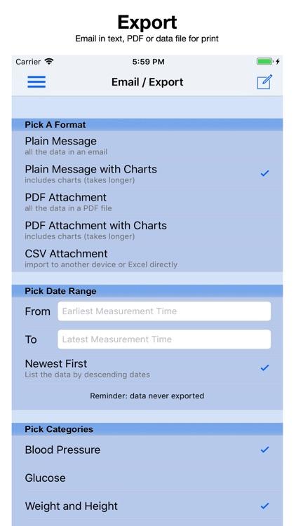Blood Pressure Monitor screenshot-4