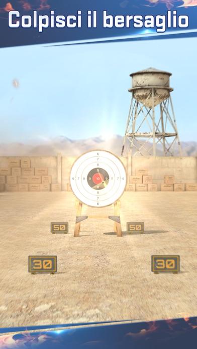 Screenshot of Mondo di tiro: cecchino3