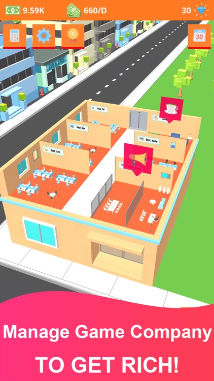 Idle Game Tycoon: Game Company