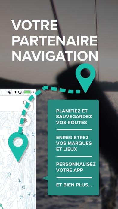 Screenshot #2 pour C-MAP : Cartes marines & météo