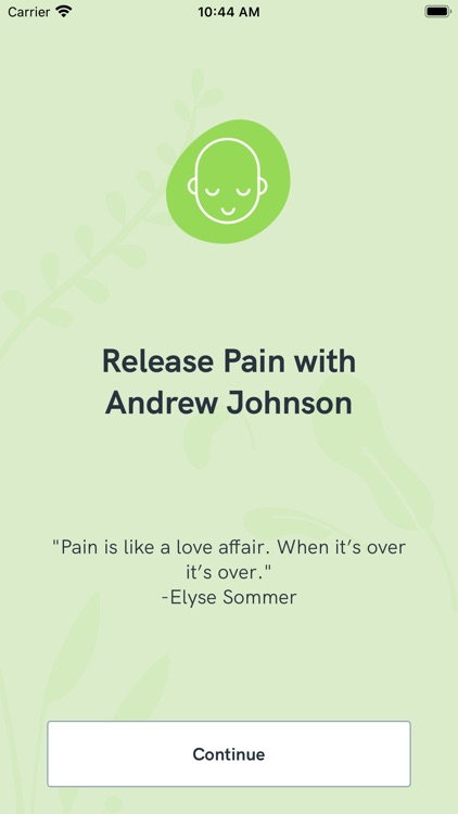 Release Pain with AJ