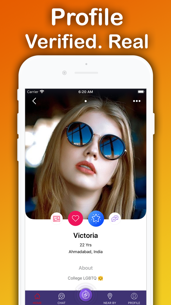 Lesbian phone app