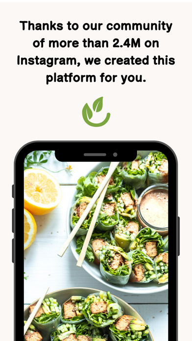 Vegan Bowls Screenshot