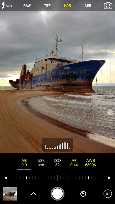 Screenshot for ProCam 7 in Turkey App Store