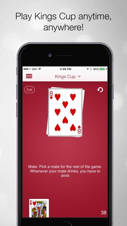 Kings Cup Drinking Game screenshot-0