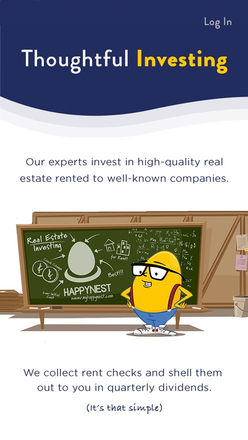 HappyNest Invest App 截图