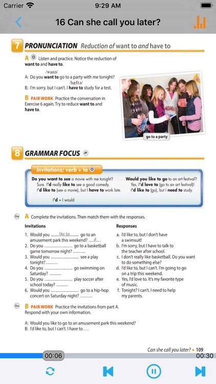 剑桥国际英语教程入门级 screenshot-4