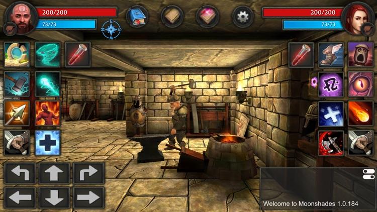 Moonshades RPG Dungeon Crawler