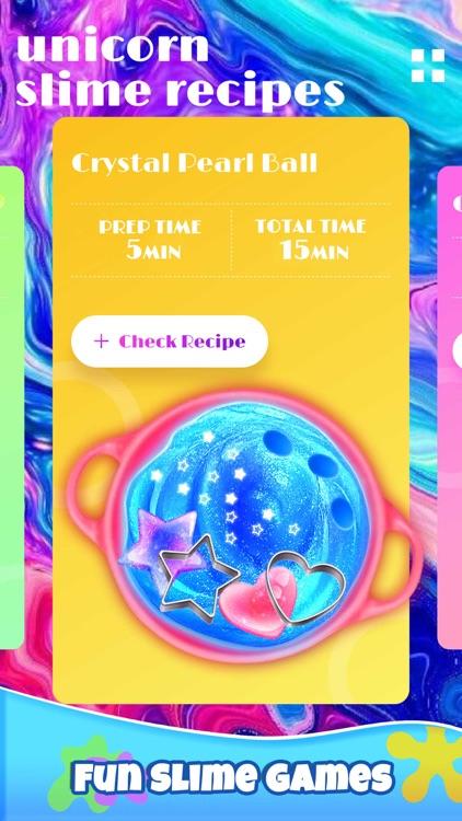 Girl Games: Unicorn Slime screenshot-4