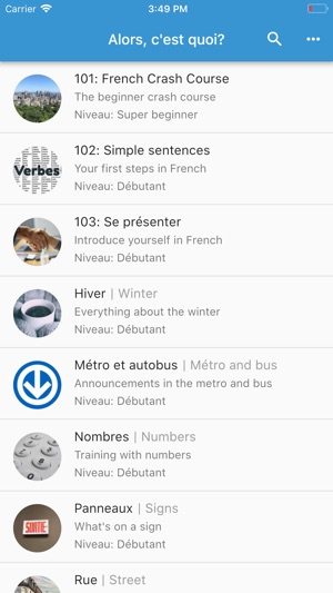 Alors Cest Quoi French On The App Store