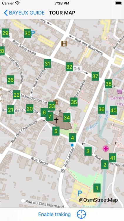 Bayeux Guide screenshot-3