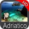Adriatic sea HD Nautical Chart