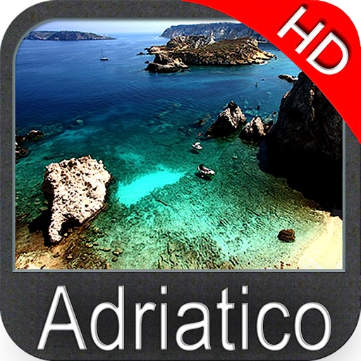 Adriatic sea HD Nautical Chart