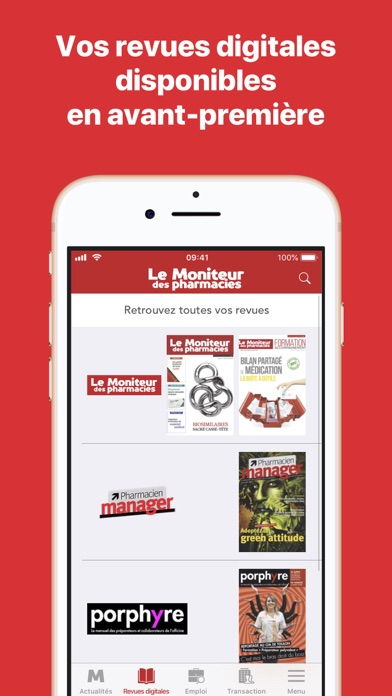 Le Moniteur des pharmacies.fr screenshot three