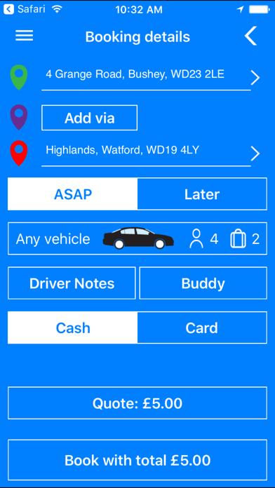 点击获取Ambassador Cars Bushey/Watford
