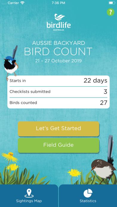 点击获取Aussie Bird Count