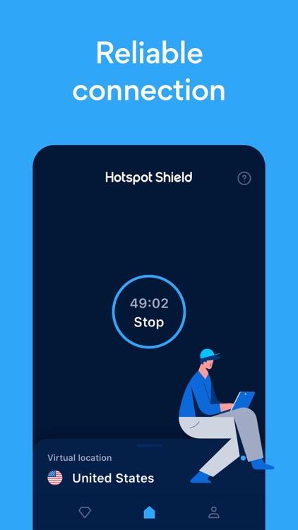 HotspotShield VPN & Wifi Proxy screenshot-3