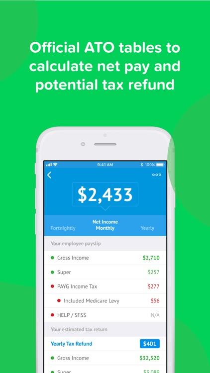 ATO Tax Calculator 2019 screenshot-3