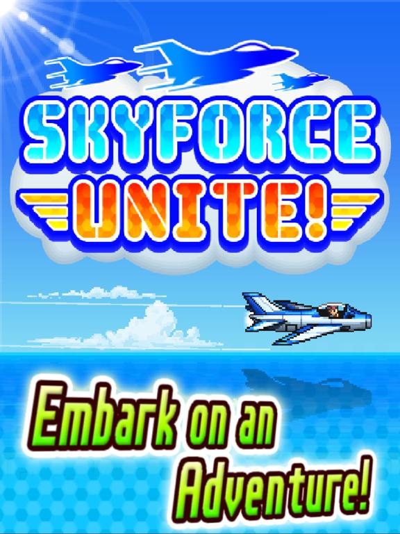 Ipad Screen Shot Skyforce Unite! 4